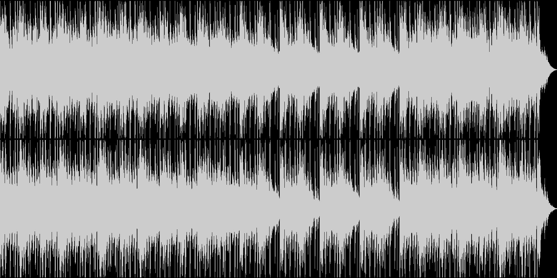 明るく、アンビエント/ポップ/ニュ...の未再生の波形