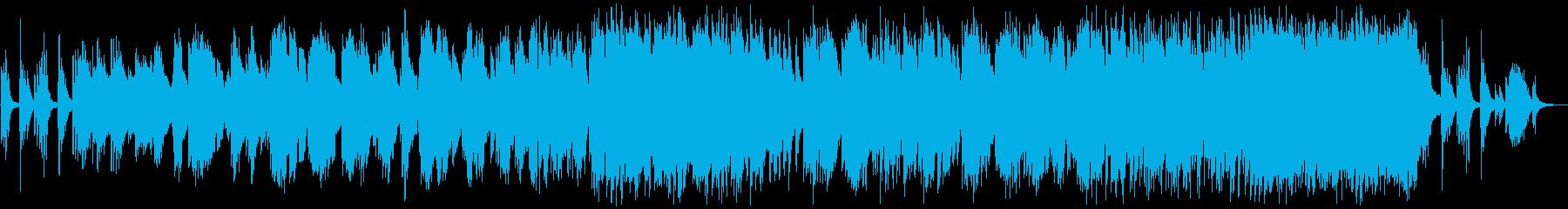 優しい雰囲気のバラード3の再生済みの波形