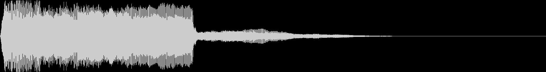 レゲエやDJで使われるホーン(ラッパ)音の未再生の波形