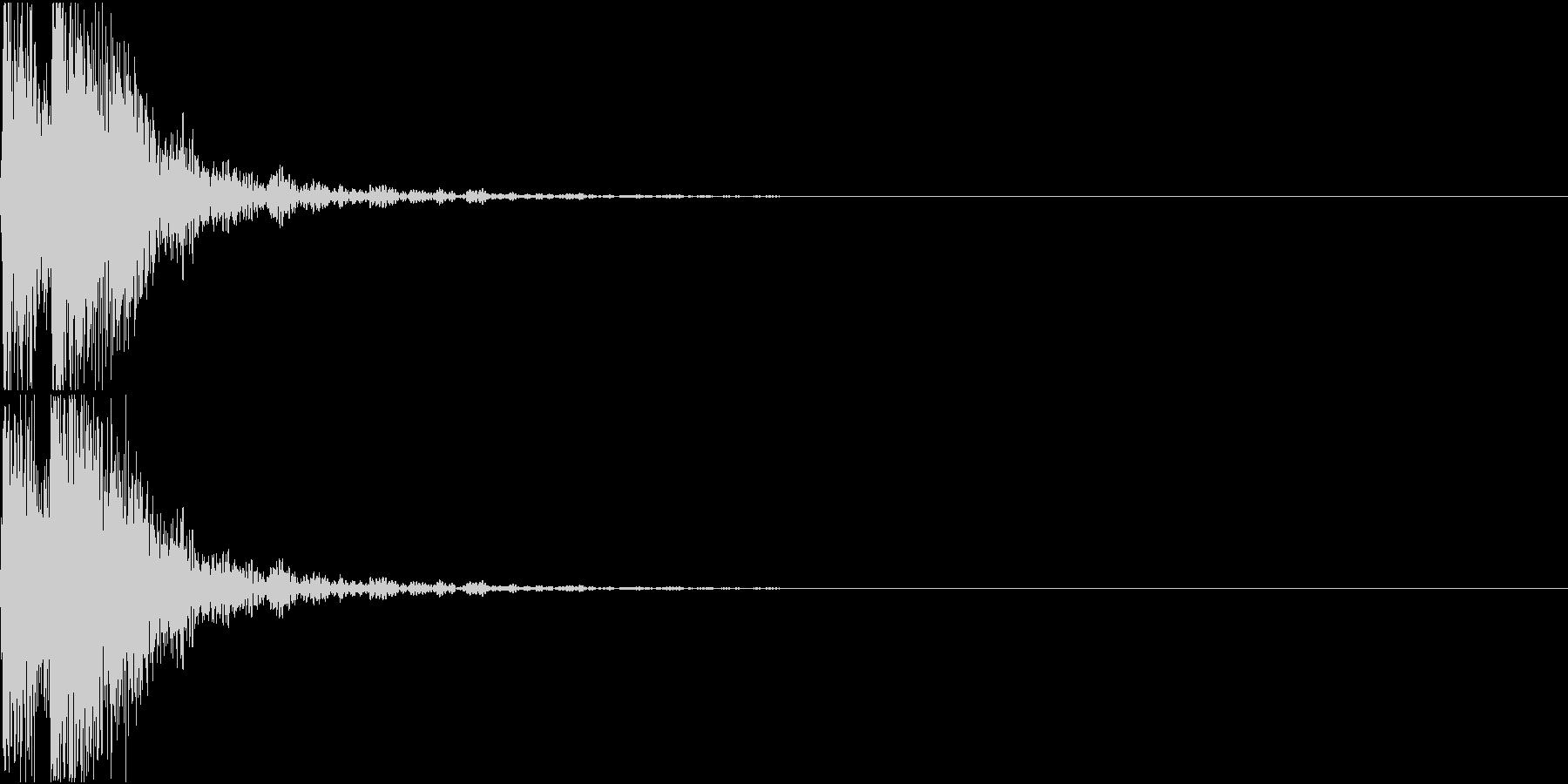 [[ドドン!]] 和太鼓、箏、三味線の未再生の波形