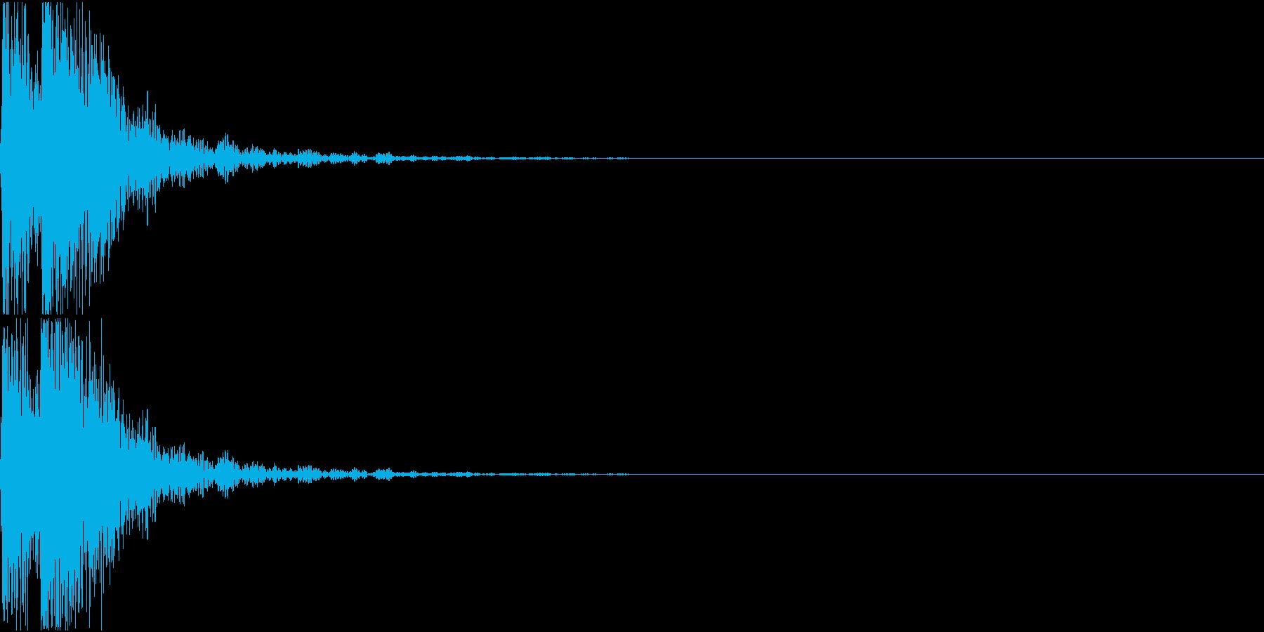 [[ドドン!]] 和太鼓、箏、三味線の再生済みの波形