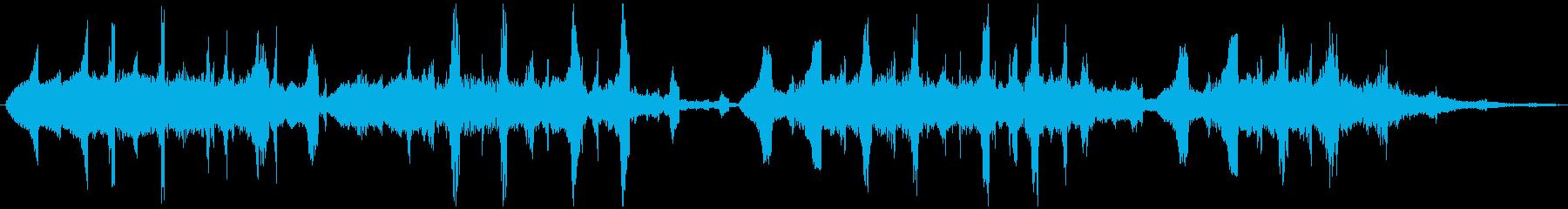 PADS グリッチートランス02の再生済みの波形
