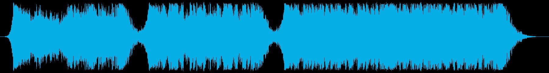 現代の交響曲 ダブステップ 積極的...の再生済みの波形