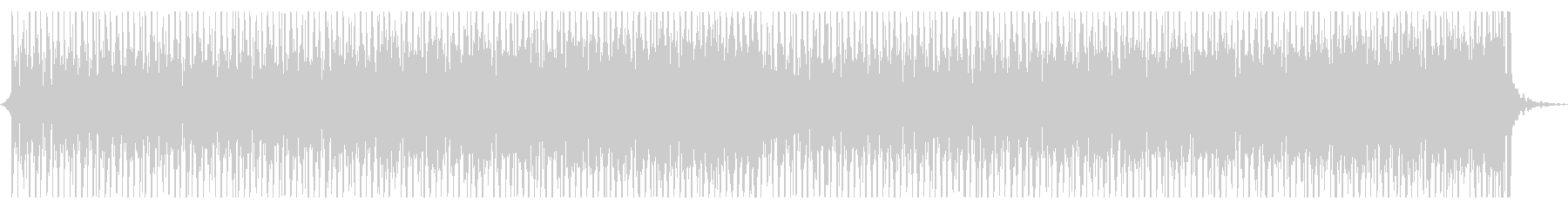 エレクトロなシンキングタイムの未再生の波形