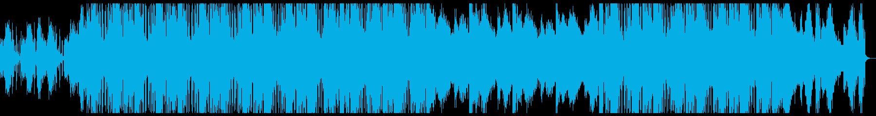 シンセがクールなチルポップトラック♪の再生済みの波形