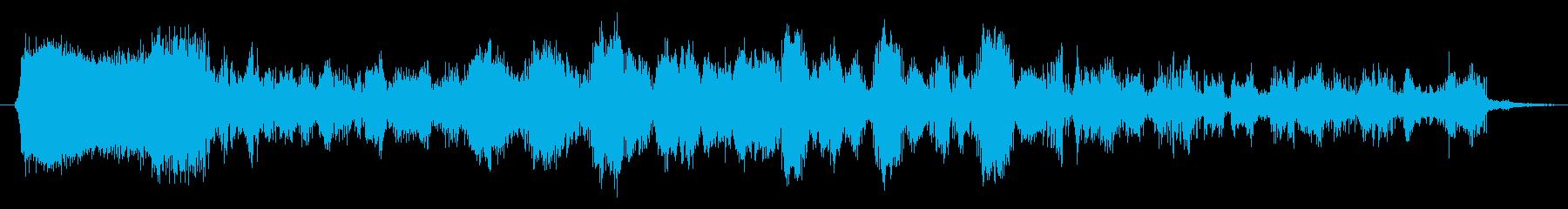エネルギーアークガン:非常に長い爆発の再生済みの波形
