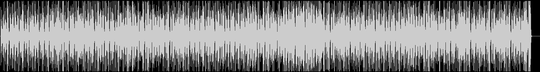 ウクレレとピアノで長閑なレゲエ調ポップの未再生の波形