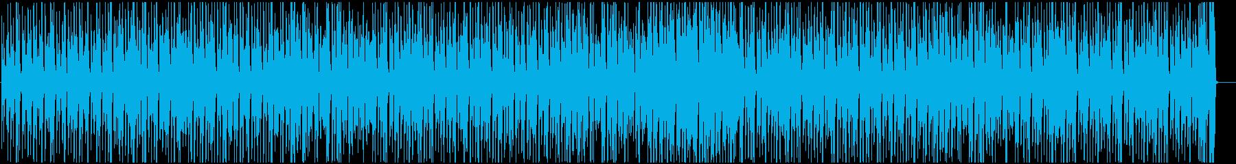 ウクレレとピアノで長閑なレゲエ調ポップの再生済みの波形