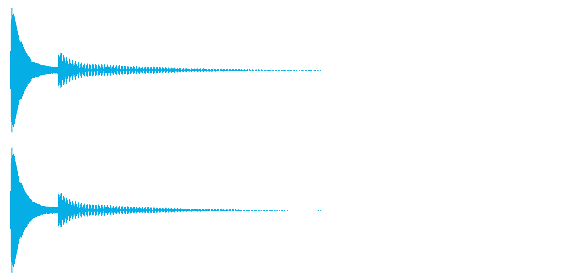 ポコッ↑/木琴/かわいいの再生済みの波形