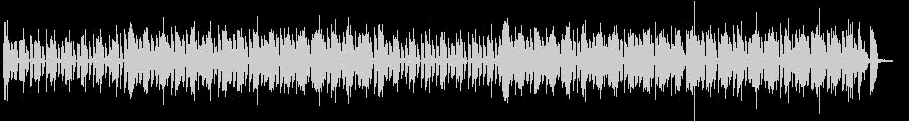 騒がしい日常系の音楽の未再生の波形