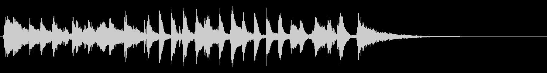 生演奏ジングル暗めラグタイムピアノジャズの未再生の波形