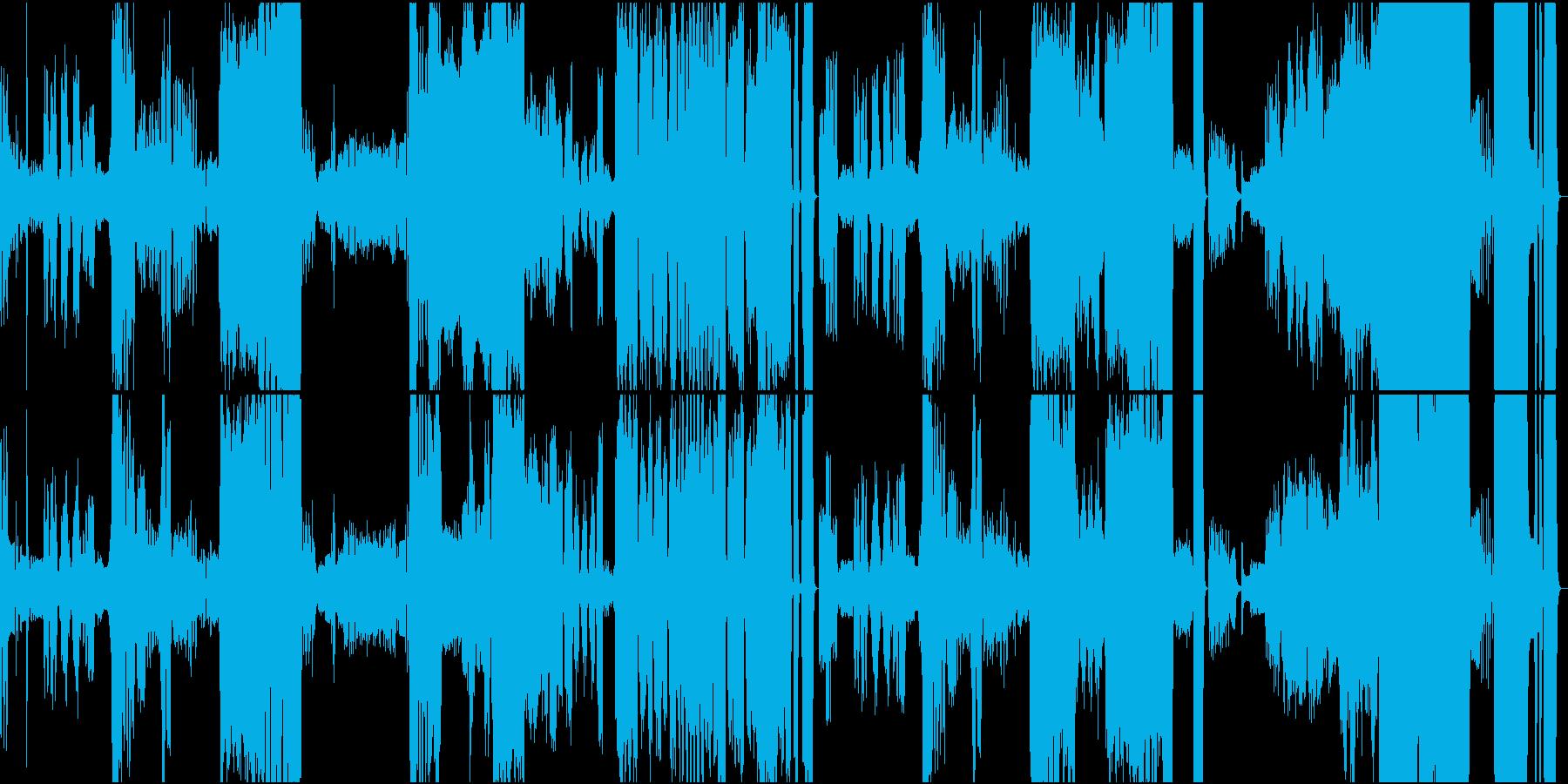 ピアノ協奏曲 第3楽章の再生済みの波形