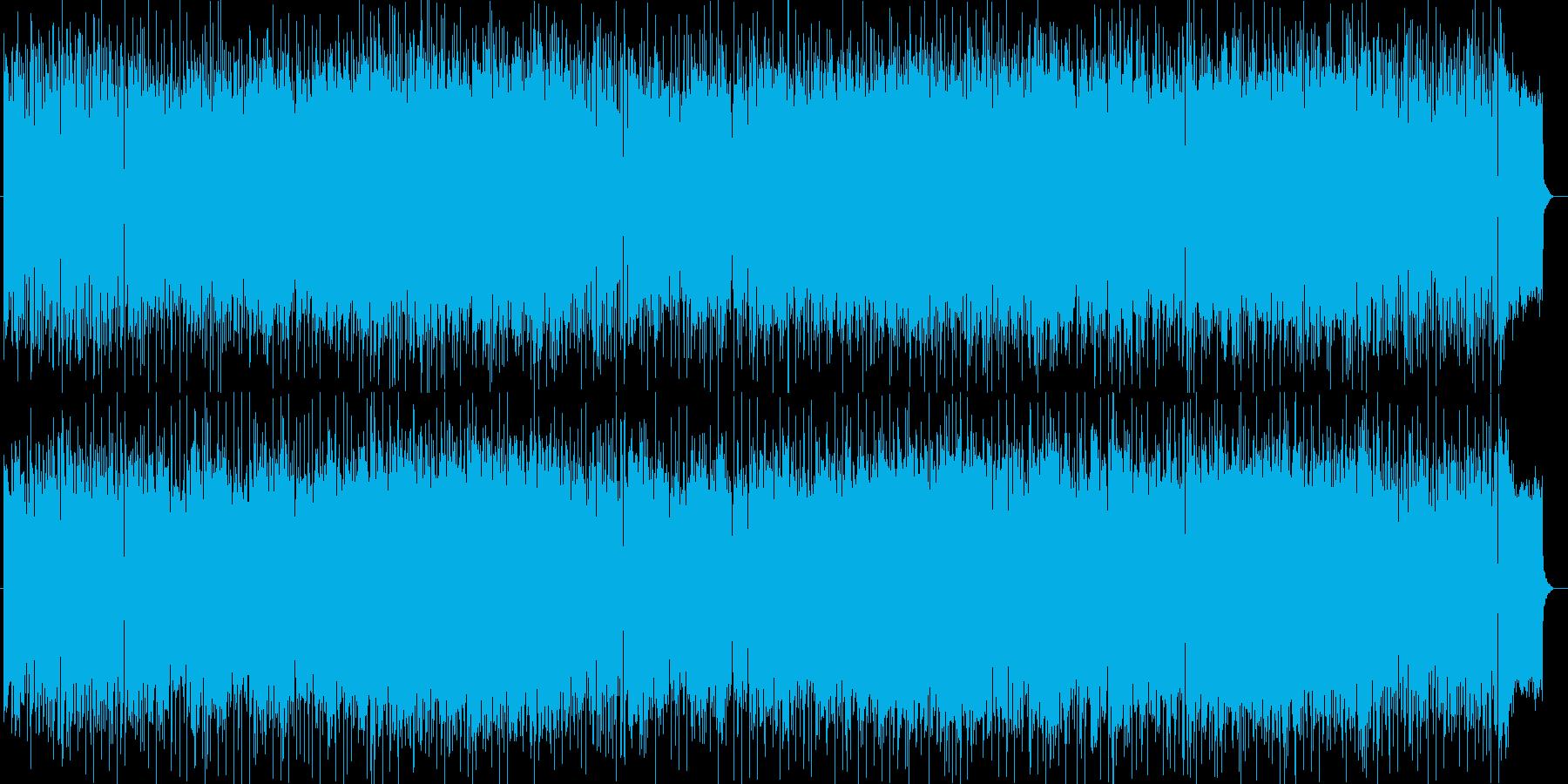 優雅な大人の軽快なディスコミュージックの再生済みの波形