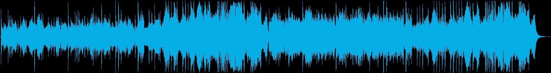 切ないピアノメインのクラシック風の再生済みの波形