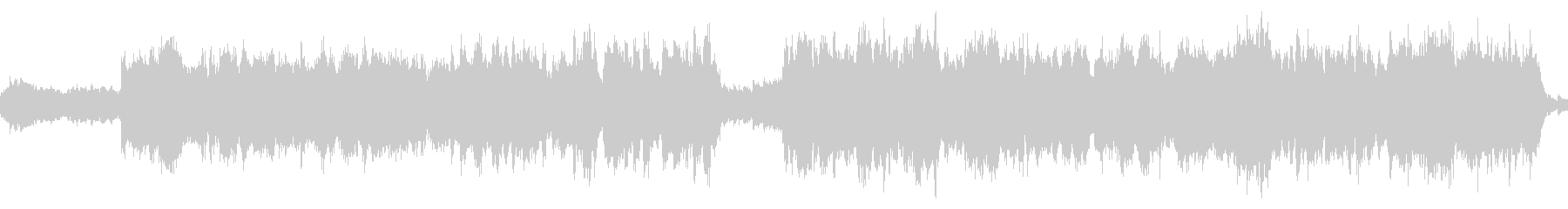 旧版RPG向けオーケストラ曲『神殿』の未再生の波形