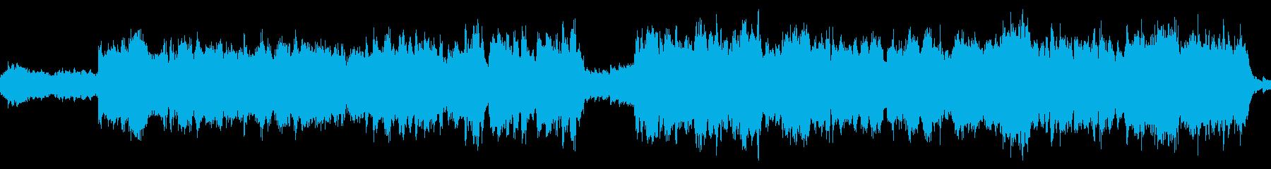 旧版RPG向けオーケストラ曲『神殿』の再生済みの波形