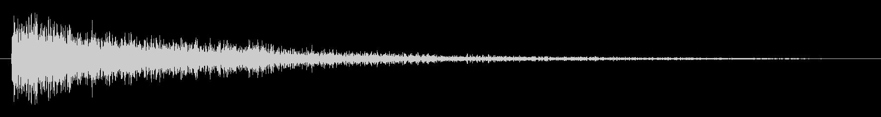 メタル ビッグインパクトラトル03の未再生の波形