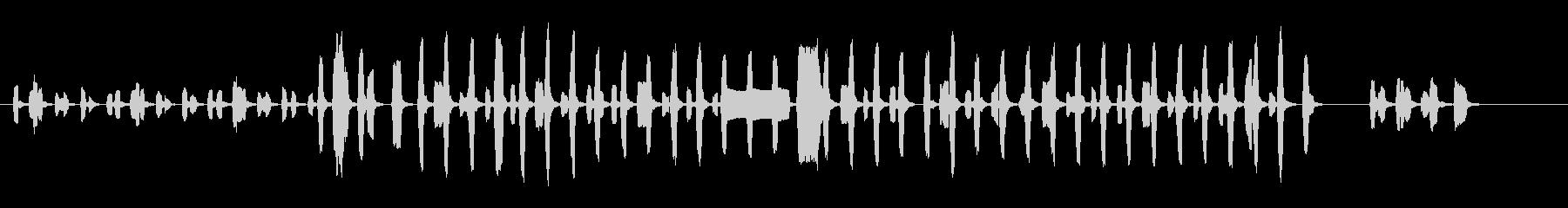 ピタゴラスイッチのパロディの未再生の波形