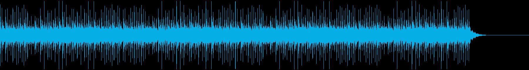 知的な雰囲気のシンセ楽曲の再生済みの波形