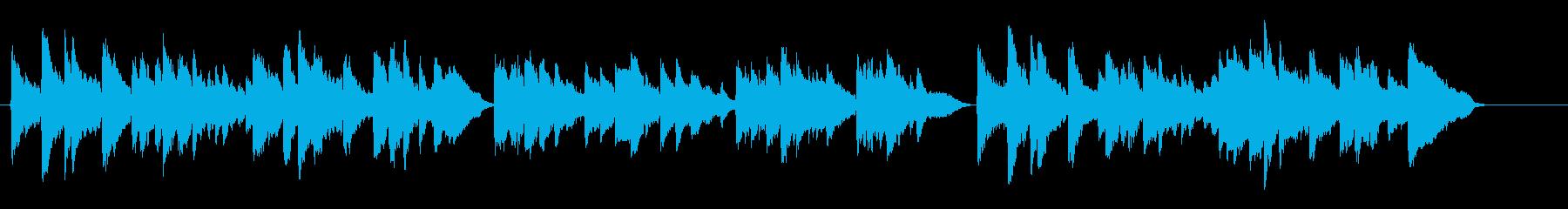 表彰状のクラシック音楽をヴァイオリンでの再生済みの波形