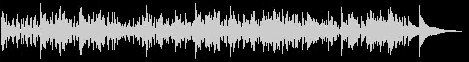 エスニックで疾走感のある曲です。の未再生の波形