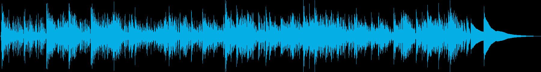 エスニックで疾走感のある曲です。の再生済みの波形
