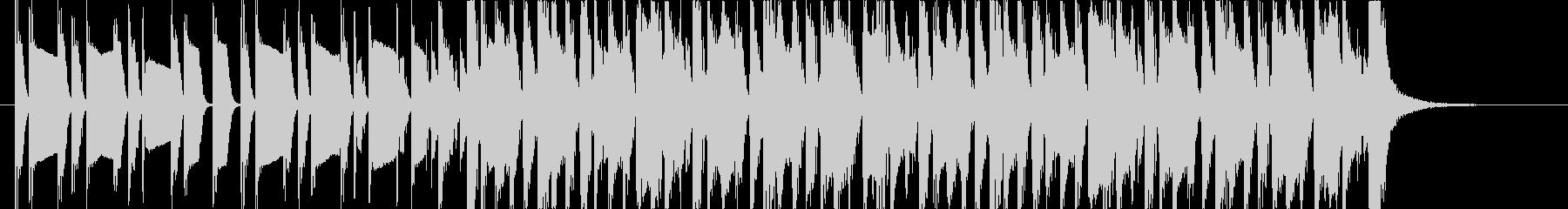 cmに使われるビンテージロックの未再生の波形