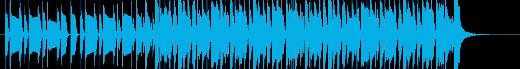 cmに使われるビンテージロックの再生済みの波形