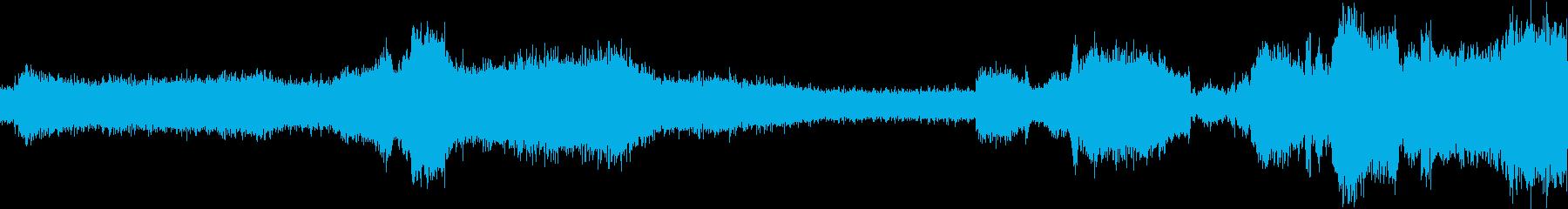コンプレッサーの軽い動きの再生済みの波形