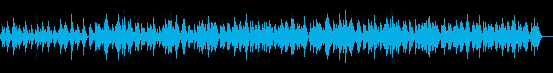 オルゴールソロの楽曲の再生済みの波形