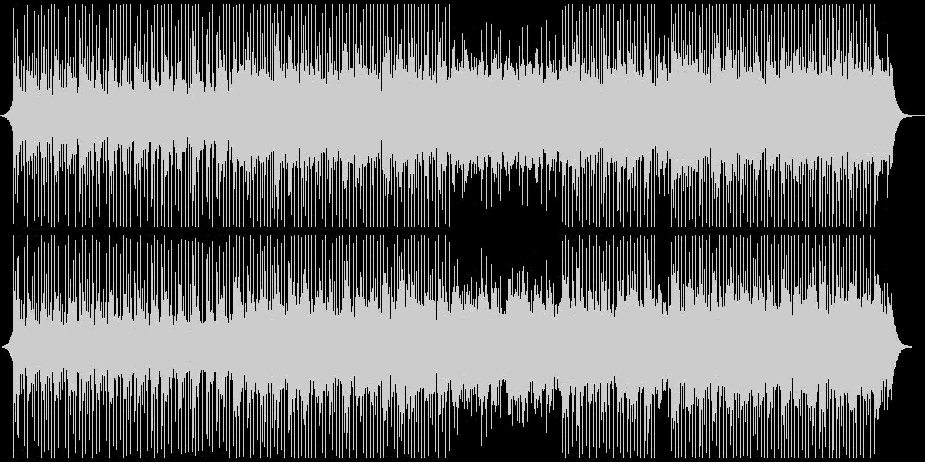 プレゼンテーションの未再生の波形