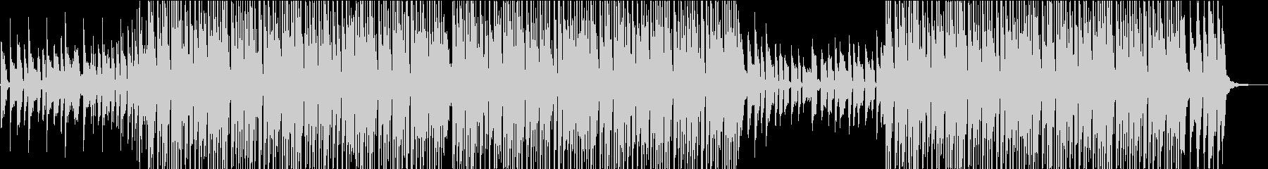チュートリアル動画向け朗らかヒップホップの未再生の波形