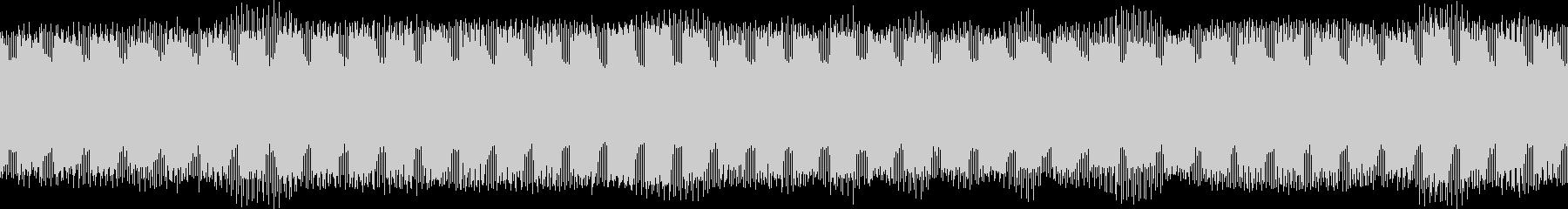 環境音・ハムノイズ(ブーン)の未再生の波形