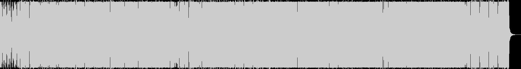恥美的で異邦なイメージのヘヴィロックの未再生の波形