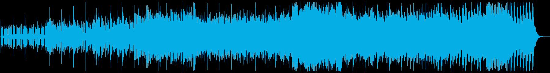 重量感のあるシネマティックオケ戦闘曲の再生済みの波形