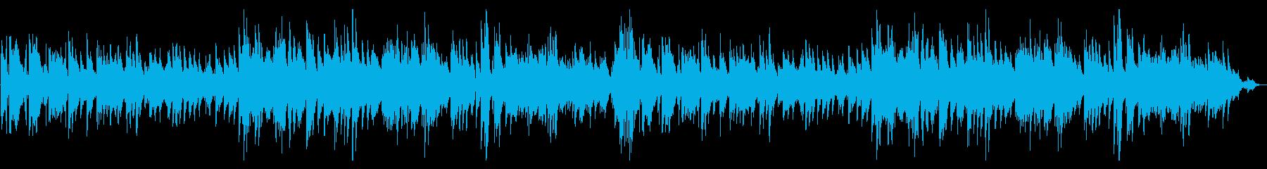 心地よい響きのオシャレなジャジーピアノ!の再生済みの波形
