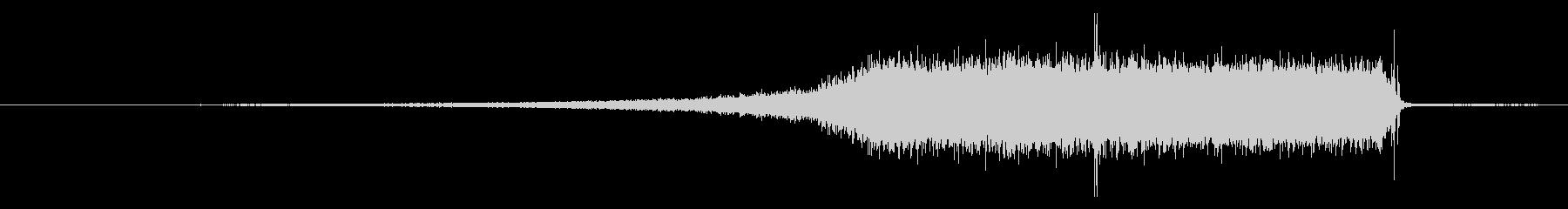 EXT:プルオンヘッドオン、スロー...の未再生の波形