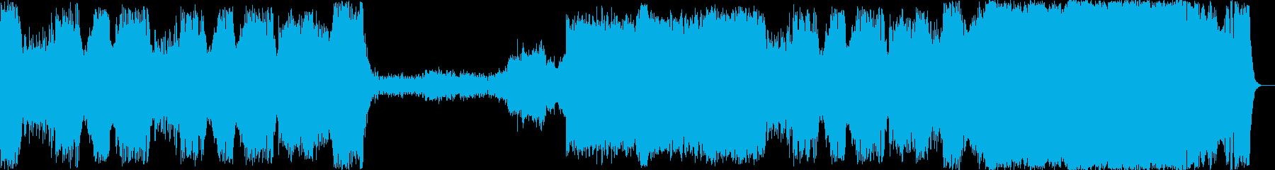 エドワードエルガーが作曲した行進曲の再生済みの波形