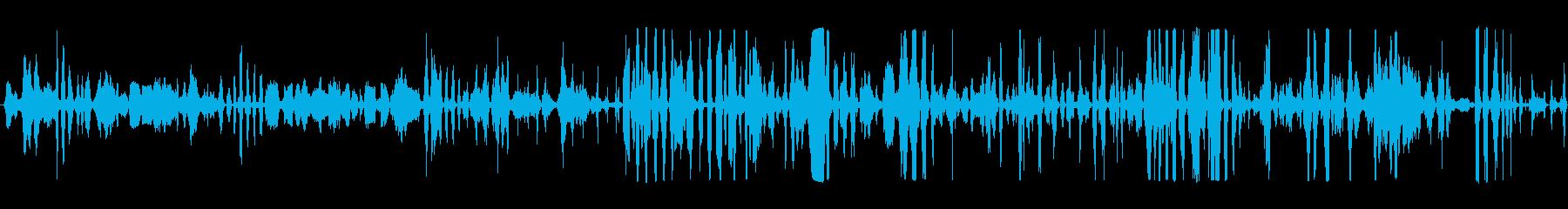 群集 群衆ハッピーワラ02の再生済みの波形