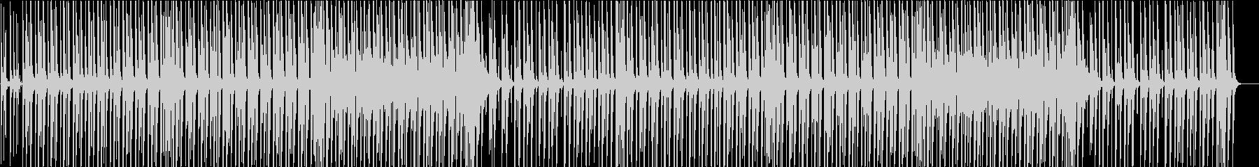 ウキウキでワクワクなピアノの軽快ブルースの未再生の波形
