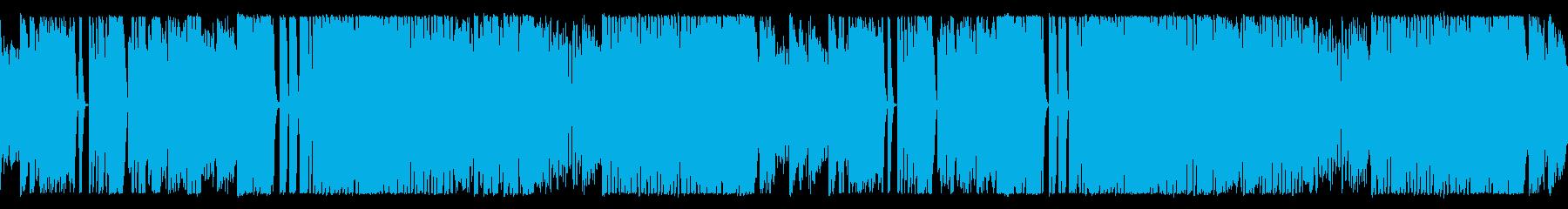 ホラーだけどかっこいいハロウィン系ワルツの再生済みの波形