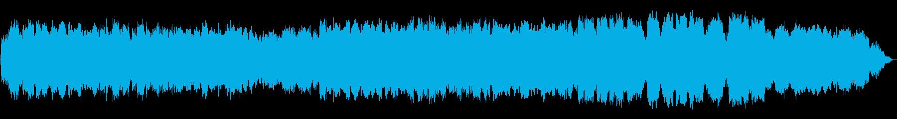 竹笛の即興による癒し系音楽の再生済みの波形