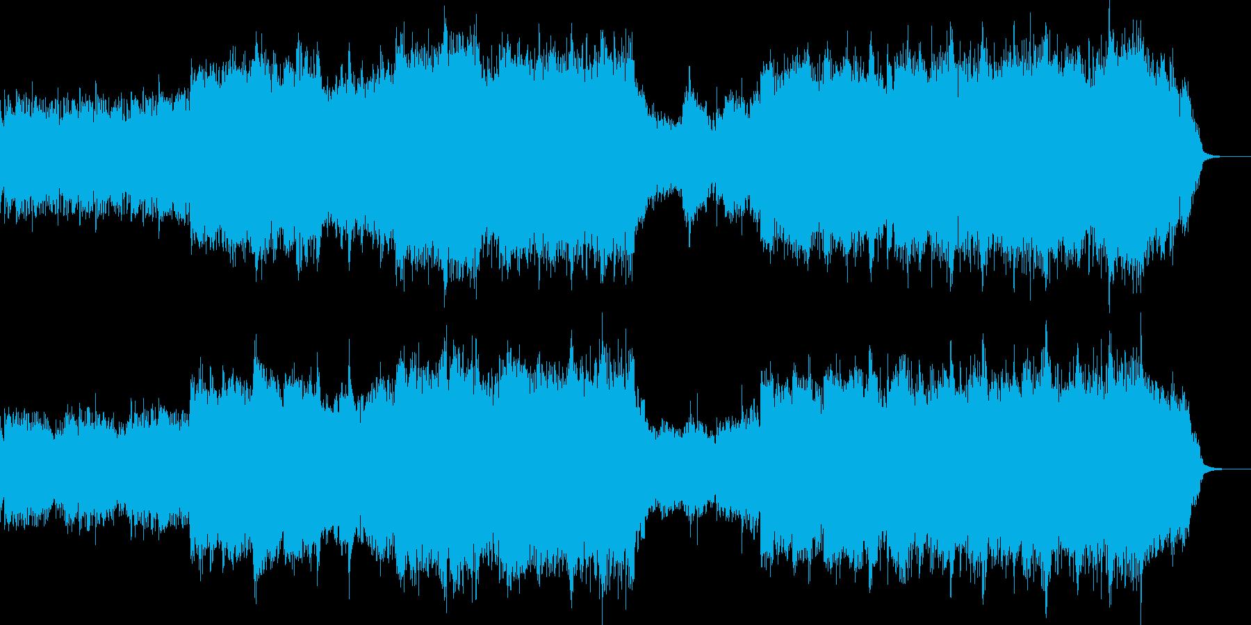 Yellow riverの再生済みの波形