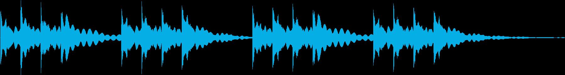 学校で使われるチャイムの音です。の再生済みの波形