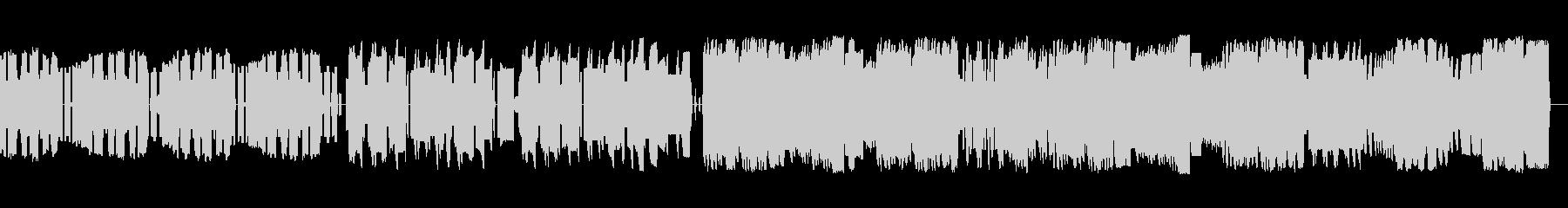 ファミコン音源によるバラード曲の未再生の波形