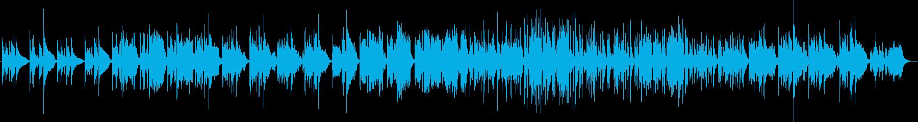 クラシック 静か 楽しげ やる気 ...の再生済みの波形