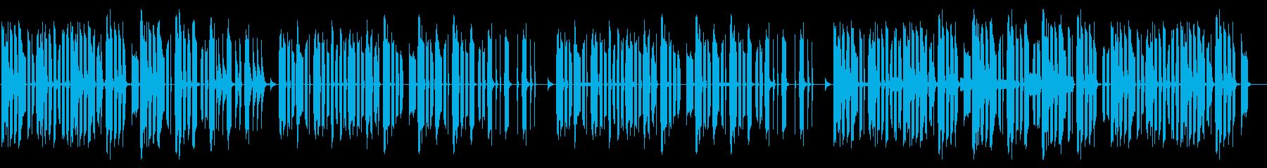 おバカでアホっぽいほのぼの雰囲気 sh の再生済みの波形