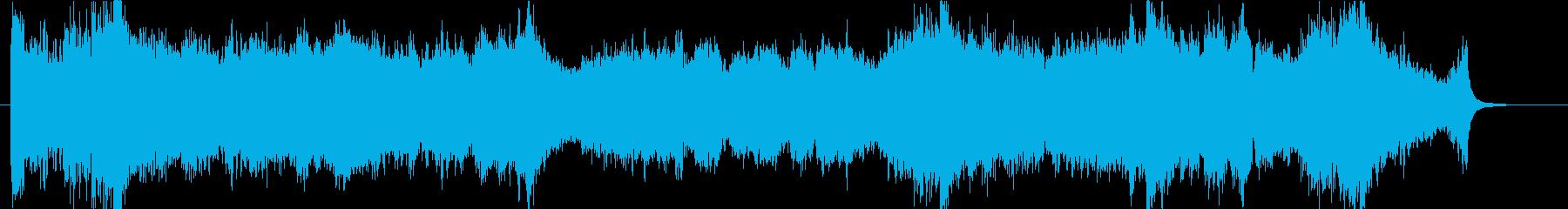 壮大、感動のオーケストラオープニングcの再生済みの波形