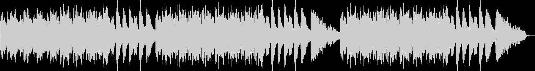 エクソシスト風ピアノ 恐怖 オカルトの未再生の波形