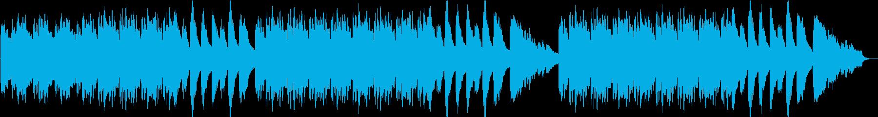 エクソシスト風ピアノ 恐怖 オカルトの再生済みの波形